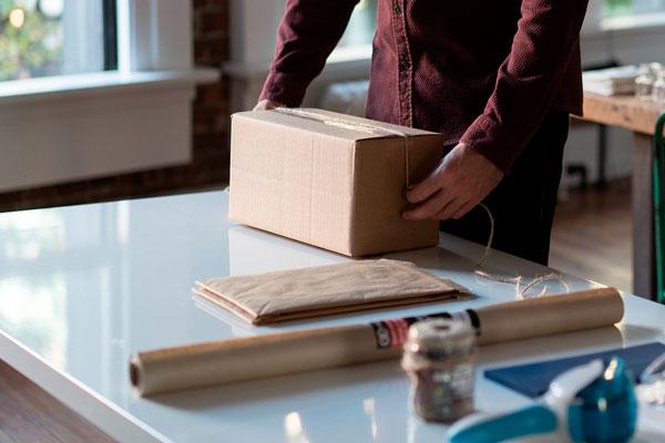 transportar objetos frágiles en una mudanza