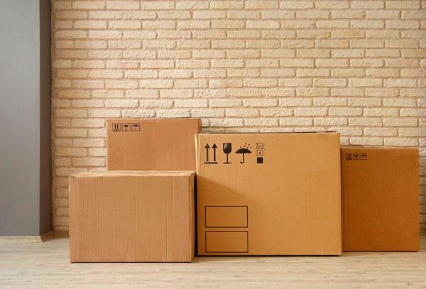 trasladar objetos pesados en una mudanza
